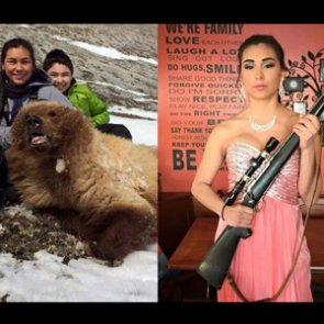 Girl kills grizzly bear, attends first prom hours later
