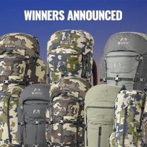 KUIU backpack winners announced