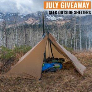 July INSIDER Giveaway: 8 Seek Outside Cimarron Shelters