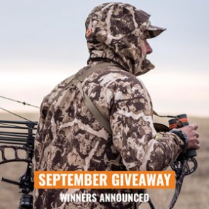 September giveaway winners announced: 10 people just won a First Lite Catalyst clothing kit