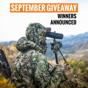 10 people just won a SITKA Gear clothing package