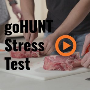 Putting hunting knives through the ringer — The goHUNT Stress Test