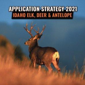 APPLICATION STRATEGY 2021: Idaho Elk, Deer and Antelope