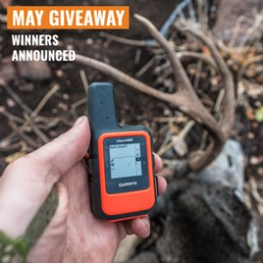 May Giveaway Winners: 10 People Just Won A Garmin inReach Mini!