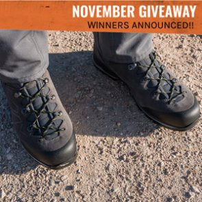 Lowa Baldo GTX Boot Winners Announced!