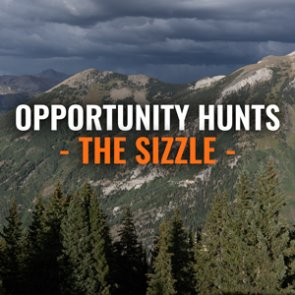 Opportunity hunts across the west