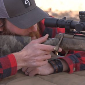 Tips on proper hand placement while shooting a rifle