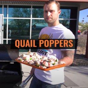Wild Game Friday - Quail Jalapeño Bacon Poppers