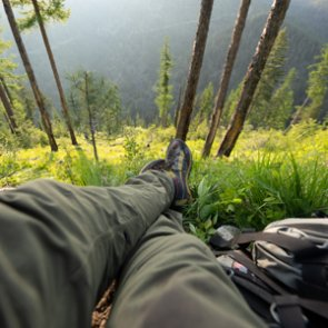 Using summer hikes to pick future fall hunting spots