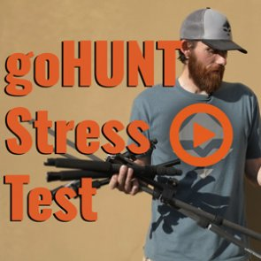 Tripod Strength & Durability — The goHUNT Stress Test