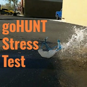 Water Bladder Buster — The goHUNT Stress Test