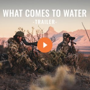 New goHUNT ORIGINAL coming soon - WHAT COMES TO WATER
