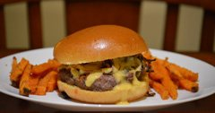 The perfect beer cheese wild game burger recipe