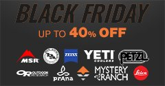 BLACK FRIDAY SALE: UP TO 40% OFF HUNDREDS OF ITEMS