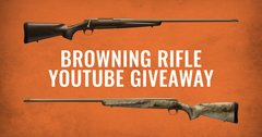 Browning Rifle YouTube Giveaway