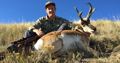 Incredible father-son antelope hunt in the plains of Wyoming