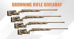May INSIDER giveaway - 4 Browning X-Bolt Hell's Canyon Max Long Range Rifles In 6.5 PRC