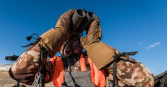 Keeping your hands warm on late-season hunts