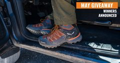 Salewa Mountain Trainer Lite Mid GTX boots Winners Announced!