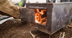 Selecting the right late-season stove for your tipi shelter