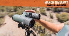 Vortex Razor UHD 10x42 Binocular Winners Announced!