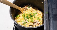 Wild Game Friday - Ep. 5 - Jill's Signature Mule Deer Breakfast Skillet