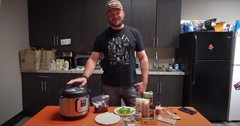 Wild Game Friday - Instant Pot Elk Philly Cheese Steak Pasta