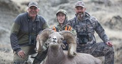 Montana college student harvests record ram