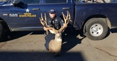 Oregon hunter used rifle, not bow, for record buck
